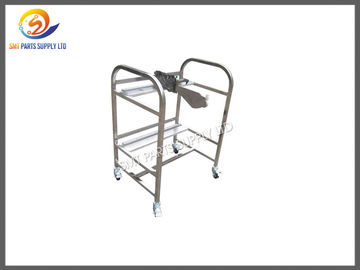Lightweight SMT Juki Feeder Storage Cart , Strong Feeder Trolley With Two Layers