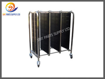 China ESD PCB Anti Static Products Storage Trolley SMT Magazine Rack Cart In Stock distributor