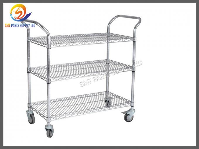 ESD SMT Reel Storage Trolley Anti Static Products ESD Rolling Industrial Metal Utility Cart